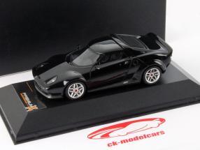 Lancia Stratos Jaar 2010 zwart 1:43 Premium X