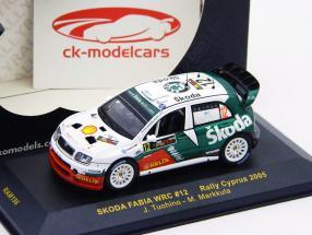 #12 Skoda Fabia WRC Cipro Rally 2005 1:43 Ixo