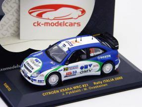 Citroen Xsara WRC n º 21 Rally Italia 2005 1:43 Ixo