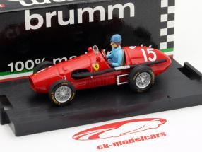 A. Ascari Ferrari 500F2 #15 Champion Du Monde GP Grande Bretagne F1 1952 1:43 Brumm