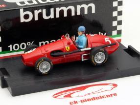 A. Ascari Ferrari 500F2 #5 Wereldkampioen GP Groot-Brittannië F1 1953 1:43 Brumm