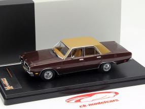 Dodge Dart Gran Sedan Year 1976 brown 1:43 Premium X