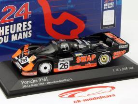 Porsche 956L #26 Segundo 24h LeMans 1984 Rondeau, Paul jr. 1:43 Minichamps