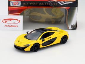 McLaren P1 gelb 1:24 MotorMax
