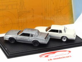 Chevrolet Monte Carlo SS Year 1981-84 cream / silver 1:64 Greenlight