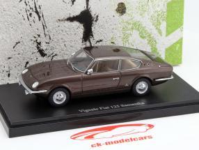 Vignale Fiat 125 Samantha année 1967 brun 1:43 AutoCult