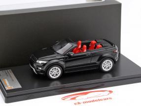 Range Rover Evoque Convertible moteur show Genève 2012 noir 1:43 Premium X
