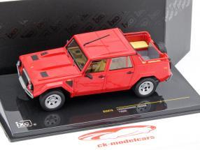 Lamborghini LM002 ano 1986 vermelho 1:43 Ixo
