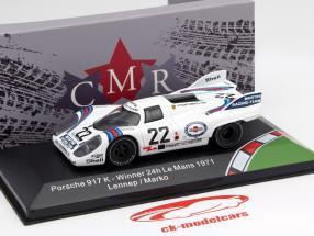 Porsche 917K #22 winnaar 24h LeMans 1971 Marko, van Lennep 1:43 CMR