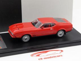 Ford Mustang Mach 1 anno di costruzione 1971 rosso 1:43 PremiumX