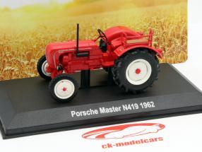 Porsche Master N 419 année 1962 rouge 1:43 Hachette