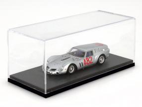 BBR haut acrylique vitrine avec gris sol pour modèles de voitures dans le échelle 1:43