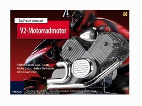 Franzis 1:4 V2 motorcycle engine kit 9783645652643 model car