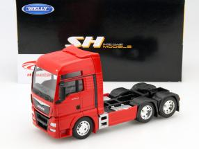 MAN TGX (6x4) vermelho 1:32 Welly