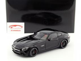 Mercedes-Benz AMG GT S ano de construção 2015 preto 1:18 AUTOart