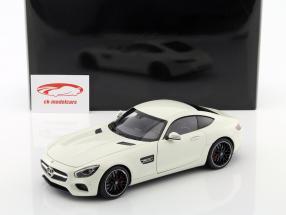 Mercedes-Benz AMG GT S anno di costruzione 2015 bianco 1:18 AUTOart