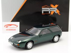 Porsche 928 S Kombi by ARTZ year 1979 green metallic 1:18 Premium X