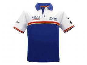 Stefan Bellof Polo Shirt record lap 6:11.13 min blue / white