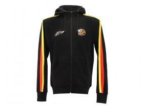 Stefan Bellof sudore giacca casco Classic Line nero / rosso / giallo