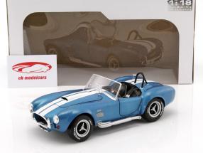 AC Cobra 427 MKII anno di costruzione 1965 blu / bianco 1:18 Solido