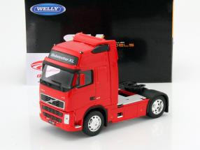 Volvo FH12 Globetrotter XL rouge 1:32 Welly