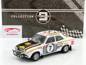 Ford Escort MK 1 RS 1600 #7 Winner Safari Rally 1972 Mikkola, Palm 1:18 Triple9