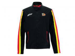 Stefan Bellof Racing jaqueta capacete preto / vermelho / amarelo