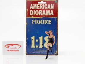 70er Jahre figura I 1:18 American Diorama