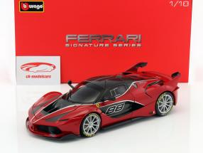 Ferrari FXX-K #88 red / black 1:18 Bburago Signature