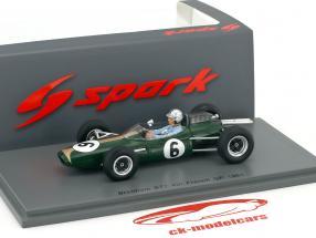 Jack Brabham Brabham BT7 #6 4th France GP formula 1 1963 1:43 Spark