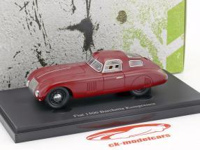 Fiat 1500 Barchetta Kompressor anno di costruzione 1943 rosso 1:43 AutoCult