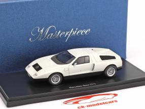Mercedes-Benz C111 prototype année de construction 1969 blanc 1:43 AutoCult