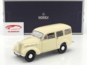 Renault Break 300 kg Juvaquatre Opførselsår 1951 elfenben 1:18 Norev