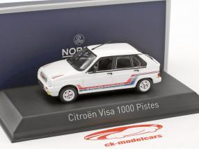 Citroen Visa 1000 Pistes year 1983 white 1:43 Norev