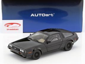 DeLorean DMC-12 año de construcción 1981 negro 1:18 AUTOart