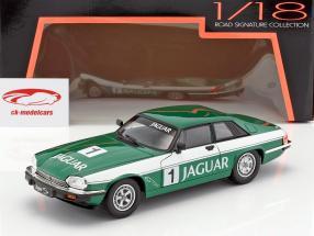 Jaguar XJS #1 verde / blanco 1:18 Lucky DieCast