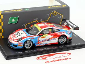 Porsche 911 (991) GT3 R #98 Macau GT World Cup 2016 Ma Ching Yeung Philip 1:43 Spark