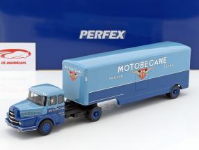 Unic Izoard Semi Remorque Motobecane blue 1:43 Momaco