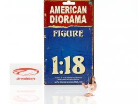 Fahrerin 1:18 American Diorama