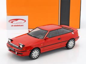 Toyota Celica GT4 ST165 année de construction 1988 rouge 1:18 Ixo