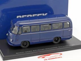 Renault Galion 2,5t Heuliez bus gendarmerie year 1959 blue 1:43 Momaco
