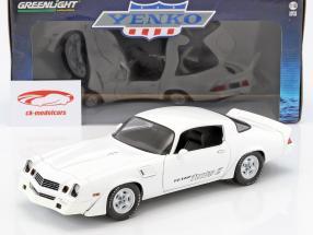 Chevrolet Z28 Yenko Turbo Z anno di costruzione 1981 bianco 1:18 Greenlight