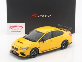 Subaru S207 NBR Challenge Package année de construction 2015 jaune 1:18 SunStar