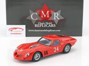 Ferrari 250 GT Drogo #24 24h LeMans prova 1963 1:18 CMR