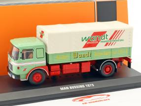 MAN Büssing Wandt Spedition Baujahr 1975 grün / rot 1:43 Ixo