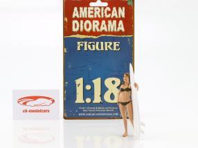 surfeur Casey figure 1:18 American Diorama
