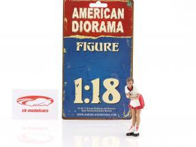 Drive-In Kellnerin Grace Figur 1:18 American Diorama