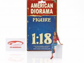 suspendu dehors Wendy figure 1:18 American Diorama