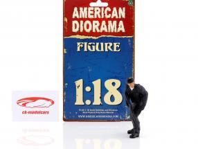 Swat Team rifleman figure 1:18 American Diorama