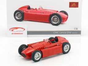 Lancia D50 ano de construção 1954-1955 vermelho 1:18 CMC